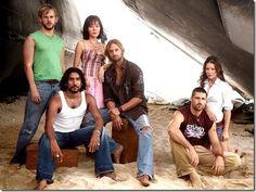 lost - charlie, sayeed,sun,sawyer, jack and kate