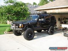 "XJ lift setups - my ""family car"" lol"
