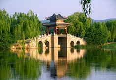 Six bridges on the west dyke of Summer Palace
