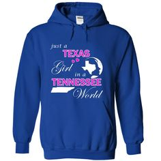 Best gift - Texas Girl in a Tennessee World T-shirt/mug BLACK/NAVY/PINK/WHITE M/L/XL/XXL/3XL/4XL/5XL
