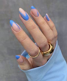Nail Design Stiletto, Nail Design Glitter, Nagellack Design, Acylic Nails, Almond Nails Designs, Funky Nails, Fire Nails, Minimalist Nails, Nagel Gel