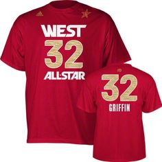 c408421a8 Los Angeles Clippers Blake Griffin 2012 All Star Adidas T Shirt at Amazon  Men s Clothing store