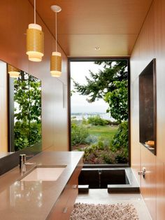 Explore dozens of stylish bathrooms for inspirational design ideas on your own bathroom remodel.