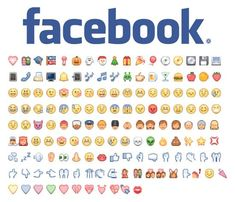 Como fazer carinhas no Facebook