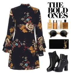 """""""♡♡♡"""" by mississippimsu ❤ liked on Polyvore featuring Yves Saint Laurent"""