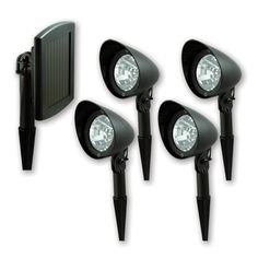 Solar powered camp lights...  Bring them, to add light to your campsite! #camping #outdoors