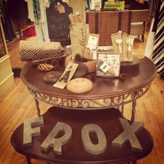 Frox's new gift line helps you entertain in style! Now on display in both stores!