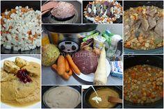 Svíčková v pomalém hrnci Crock Pot, Slow Cooker, Crockpot, Crock