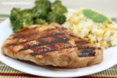 Eat Cake For Dinner: Sweet Dijon Pork Chops