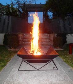 Cool Steel Fire Pit