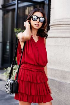 8 Ways To Rock A Red Dress