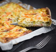 Enjoy this delicious leek pie and smoked salmon recipe, smooth, easy and quick to make. Ingredients and cooking time Salmon Pie, Leek Pie, Smoked Salmon Recipes, Smoked Fish, Pie Shell, Salty Cake, Salad Bowls, Pie Recipes, Cooking Time