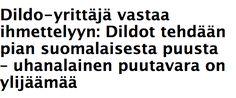 In Finnish Media: Uusi Suomi