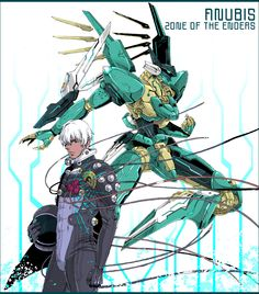 Tags: Zone of the Enders, Dingo Egret, Jehuty, Charatei