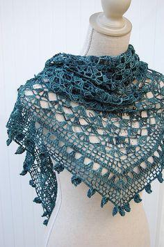 Ideas crochet summer scarf pattern ravelry for 2019 Crochet Shawls And Wraps, Crochet Scarves, Crochet Clothes, Knitting Scarves, Lace Knitting, Crochet Lace, Crochet Stitches, Crochet Summer, Shawl Patterns
