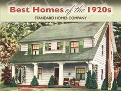 "Best Homes of the 1920s (Dover Architecture) by Standard Homes Company  >>> Scores of excellent photographs, drawings, and floor plans depict standardized homes of wood, brick, stucco, and stone, perhaps the most carefully planned of their time. From the substantial beauty of the eight-room ""Homestead"" and the colonial-style ""Cambridge"" to the spacious Spanish-style ""Ponce de Leon,"" this is a delightful time capsule for builders, home preservationists, and nostalgia fans."