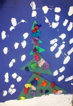 kindergarten Christmas tree: