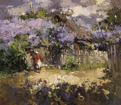 The lilac in the village,   Alexi Zaitsev