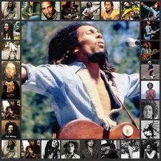 *Bob Marley* More fantastic collages, pictures and videos of *Bob Marley* on: https://de.pinterest.com/ReggaeHeart/ ©AshiharaLover/ ashiharalover.deviantart.com