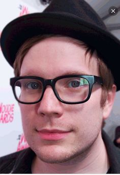 I think the glasses and the fedora will always be my favorite Patrick