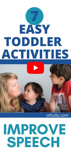 Are you looking for simple toddler activities to boost your 2 year olds speech development? Look no further. These 7 activities are specifically for improving oral motor skills which means the muscles in the face and mouth. In other words these activities are made to improve your 2 year old toddlers' speech development and help them speak clearer. If you are concerned about your 2 year olds speech development or that they are a picky eater- these activities are for you. Activities For 1 Year Olds, Toddler Learning Activities, Parenting Toddlers, Parenting Tips, Toddler Speech, Occupational Therapy Activities, Oral Motor, Pediatric Ot, Toddler Development