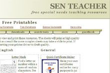 SEN Teacher.org - Free Printables Logo