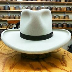 """The """"Waco Kid"""" custom from the Workshop at JJ Hat Center."""