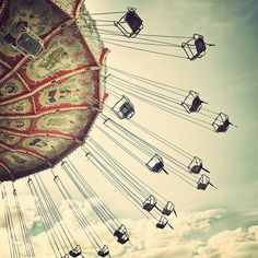 Theme Park Swings - I love these!
