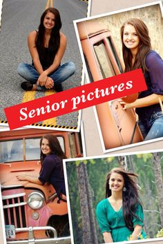 Senior pictures - I like the symbol of the road