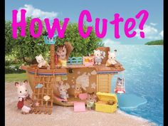 Calico Critters Adventure Treasure Ship Review ❤ Sylvanian Families Adve...