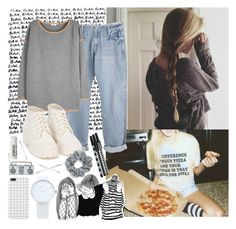 """""""PIZZA //"""" by bubblywisdom ❤ liked on Polyvore featuring MaxMara, Marc by Marc Jacobs, Marc Jacobs, Nly Shoes, Natasha Couture, Cara and L:A Bruket"""