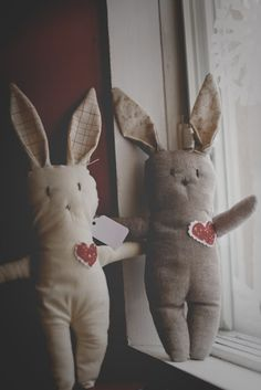 DIY Stuffed Rabbits