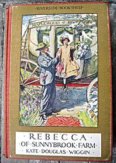 Vintage book Rebecca of Sunnybrook Farm Kate by LittleBeachDesigns, $29.00