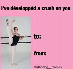Only people who do ballet will get this
