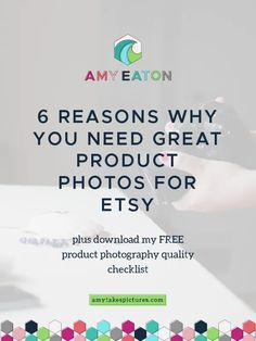 6 Reasons Why You Need Great Product Photos For Etsy. Tips and tricks for handmade and creative sellers >> Amy Eaton Ads Creative, Creative Business, Business Tips, Craft Business, Print Advertising, Print Ads, Advertising Campaign, Guerilla Marketing, Street Marketing