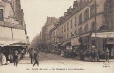 #photo Rue Oberkampf à la rue Saint-Maur vers 1900 #PEAV #Paris11 @Menilmuche @RostatAlberto @souvienstdparis