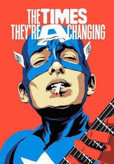 Ilustrador transforma astros da música em super-heróis e o resultado impressiona   SuperVault