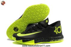 16c58e5107d6 Discover the Nike Kevin Durant KD 6 VI Black Neon Green For Sale Top Deals  collection at Pumarihanna. Shop Nike Kevin Durant KD 6 VI Black Neon Green  For ...