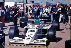 (Teo Fabi's) Toleman TG185 - Hart 415T 1.5 L4 (Great Britain 1985)
