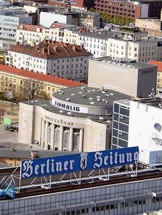 Berlin-Volksbuehne und Berliner Zeitung
