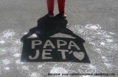 idée fête des pères Papa je t'aime