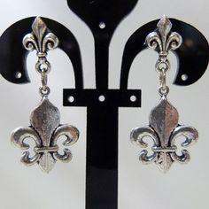 Check out this item in my Etsy shop https://www.etsy.com/listing/110228789/fleur-de-lis-post-fleur-de-lis-earrings