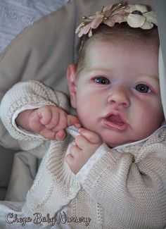 Saskia by Bonnie Brown (reborned by Cheza Baby Nursery)