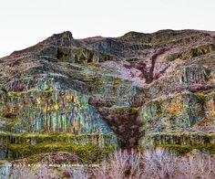 Rock Formations along the Yakima River Canyon - Kittitas County, Washington. by Steve G. Bisig, via Flickr