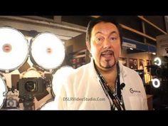 Rotolight LED Lighting Interview Part 2 @DSLRVideoStudio