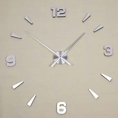 Clock Material: Metal. 1 pcs wall clock as the picture show. Mirror Material: Acrylic   EVA. Pakage List Condition: 100% New and high quality. Canada Rate (item arrived) 0.0% 2.3% 3.6%. 30.9% 35.5%. | eBay!