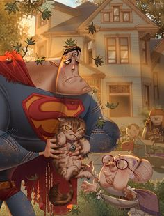 Super Cat by Ramon Pla