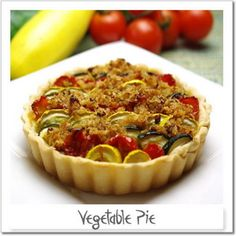 Food Couture:Vegetable Pie