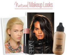 See different natural looking makeup looks to try.  #makeup