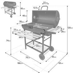 Barbecue Garden, Barbecue Grill, Grilling, Vegan Barbecue, Diy Grill, Barbecue Chicken, Barbecue Design, Grill Design, Oil Drum Bbq